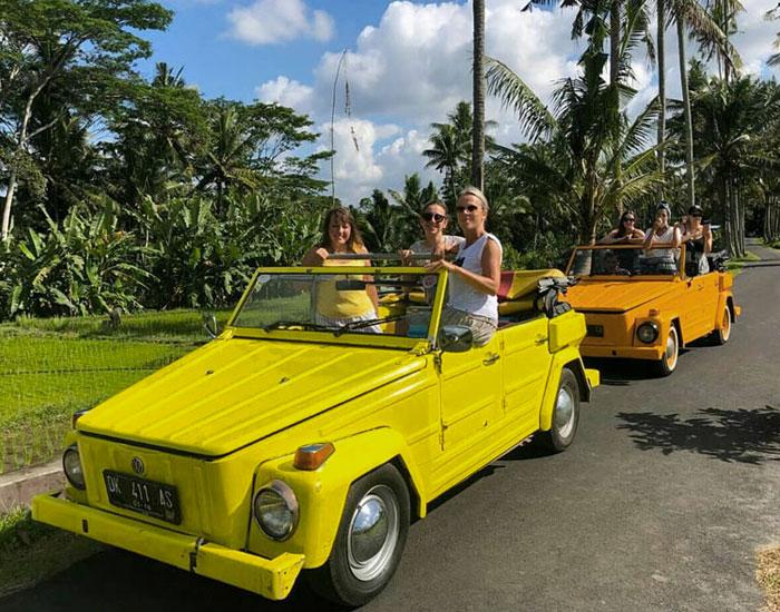 Classic Volkswagen Safari Village Tour Bali Tours Activities Adventure Bali Travel Guide